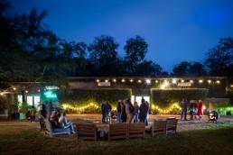 Ivy Hall Event at Night
